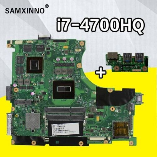 [해외] N56JR MOTHERBOARD I747HQ GTX760M2G 한 ASUS N56JR N56JK N56J N56 LAPTOP MOTHERBOARD N56JR 메인 보드가, 상세내용표시