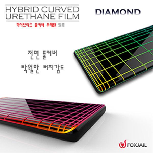 ksw48065 갤럭시 Z FLIP 다이아몬드 우레탄 필름 2매 ge157 SM-F700NZ, 1