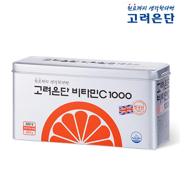 고려은단 비타민C 1000 (10개월분) 유효기간23년04월, 고려은단 비타민C 1000 300정
