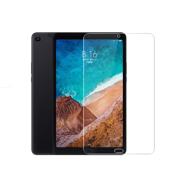 Xiao mi mi pad 4 plus mi pad 4 plus 10.1 tablet + screen clean tools 용 50 개/몫 강화 유리 스크린 보호 필름, 단일