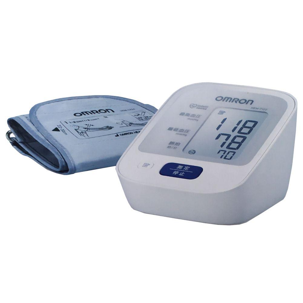 오므론 전자혈압계 HEM-7122 혈압측정기 혈압계, 2. HEM-7122 + 어댑터