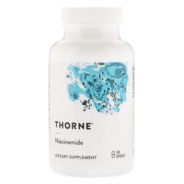 쏜리서치 비타민B3 나이아신아마이드 180캡슐 Thorne Research Niacinamide, 1개