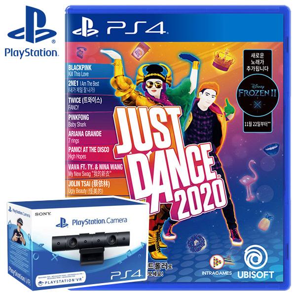 PS4 저스트댄스 2020 한글판 + PS4 카메라 (더블팩), 단일상품