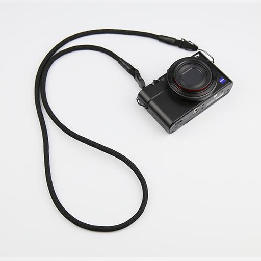 [아르믹] 리코GR3 소니RX100 캐논G7X mark3 카메라 넥스트랩, 1개, 블랙