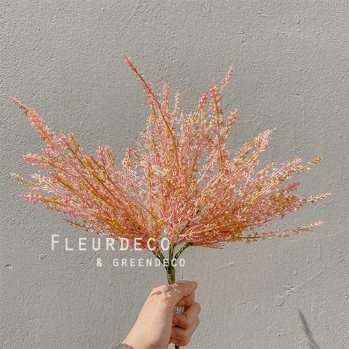 플레르데코 인테리어 꽃 소품 감성소품 조화 코키아부쉬(4color), PINK
