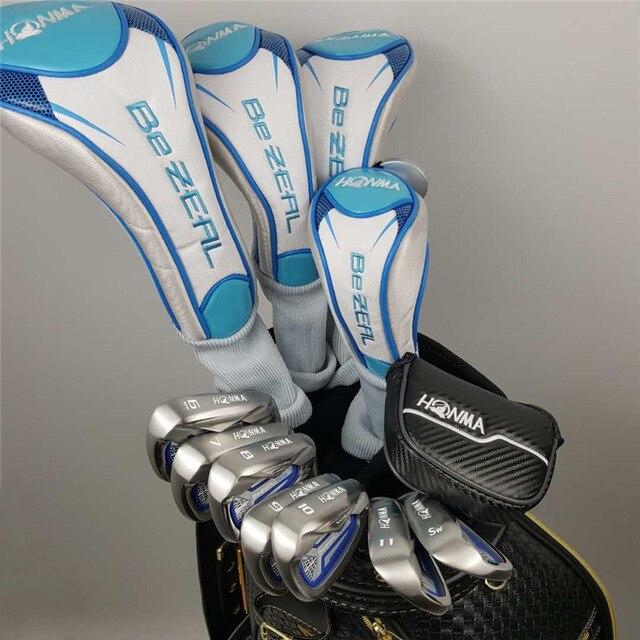 여성골프채 풀세트 - 새로운 여성 골프 클럽 HONMA BEZEAL 525 골프 풀 세트 혼마 골프 클럽 흑연 L (가방없이), 01 full set 12Pcs