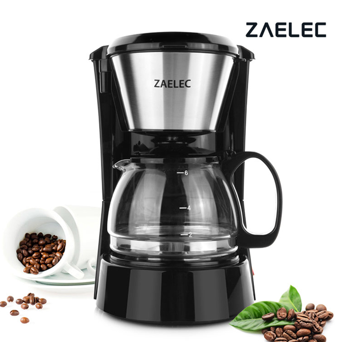 자일렉 커피메이커 커피머신 커피포트 ZL-865C 보급형 최대 6잔