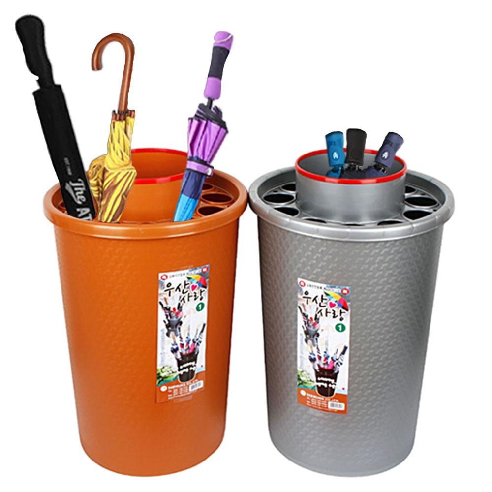 우산사랑1호 대용량 우산꽂이 보관함 정리대 우산통 장우산, 단일상품