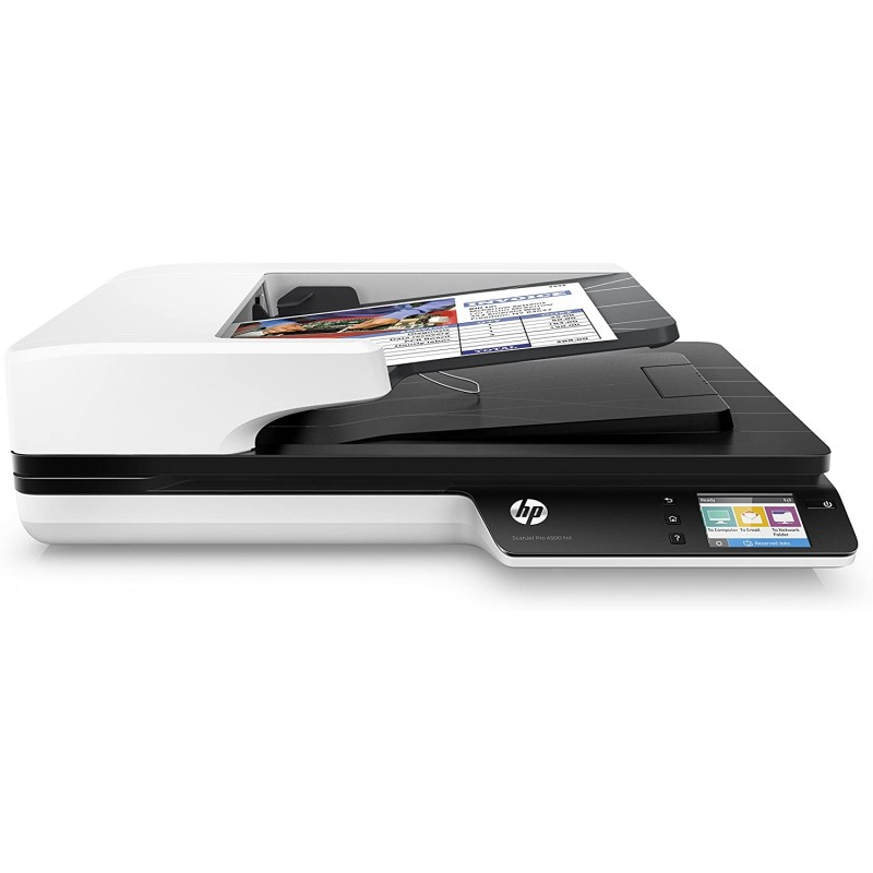 HP ScanJet Pro 4500 fn1 네트워크 OCR 스캐너: 사무용 제품, 단일옵션