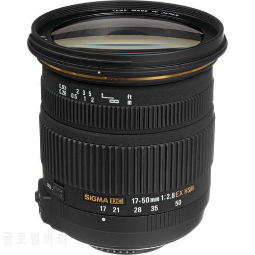 Sigma 17-50 Sigma 17-50mm F/ 2.8 EX DC OS HSM 렌즈 니콘 D3200 D3300 D34, 상세내용참조