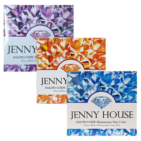 제니하우스 2020 최신상 일루미네이션 헤어컬러 모카브라운 다크브라운 와인브라운 선택 무료배송, 1개