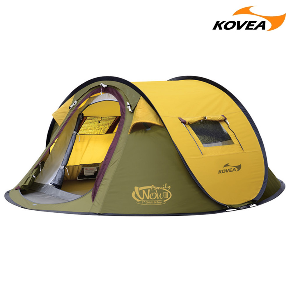 코베아 KECT9TI-07 와우 패밀리Ⅲ 텐트, (1개입), (새상품)