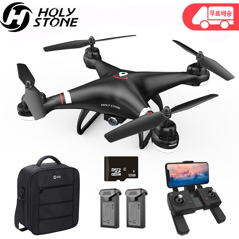 홀리스톤 HS110G GPS 드론 배터리2개 26분비행 국내AS 사은품 드론수납백 무료증정 촬영용