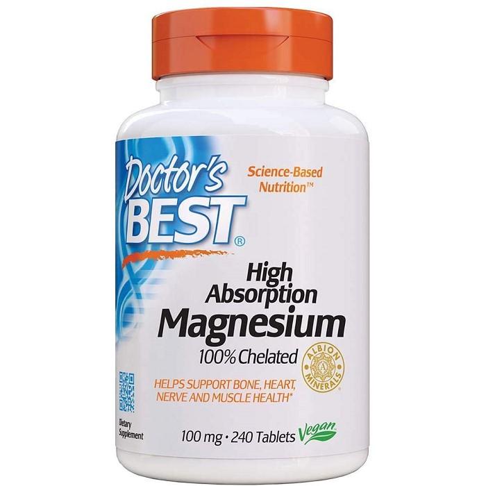 닥터스베스트 Absorption 마그네슘 100mg 240정 p13, ONE SIZE, ONE COLOR