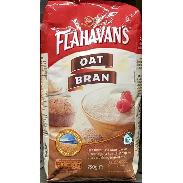 FLAHAVANS 플라하반 오트 브란 750g (아일랜드) 오트밀 -귀리미강100%, 1개