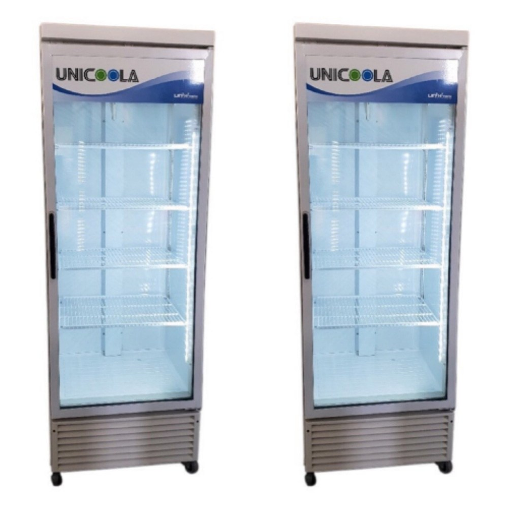 쇼케이스 음료수냉장고 업소용냉장고A급 매장홀진열용 전국직접배송 냉장쇼케이스, 유니-465RF