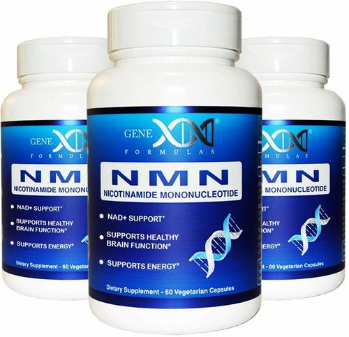 NMN 니코틴아미드 모노뉴클리오타이드 혈관건강 180  3통  60개입Genex Formulas 제넥스포뮬러 NMN 니코틴아미