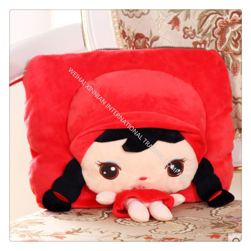 만화 뜨거운 물병 귀여운 봉제 따뜻한 주머니BP0822, 3개