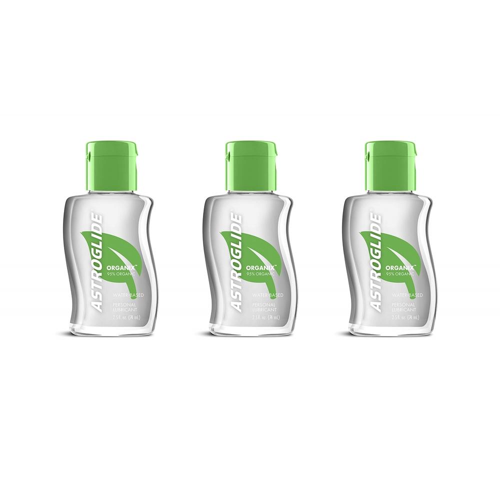 아스트로글레이드 Astroglide Organix Liquid Personal Lubricant 아스토글레이드 오가닉스 리퀴드 워터베이스 74ml 3팩, 1set