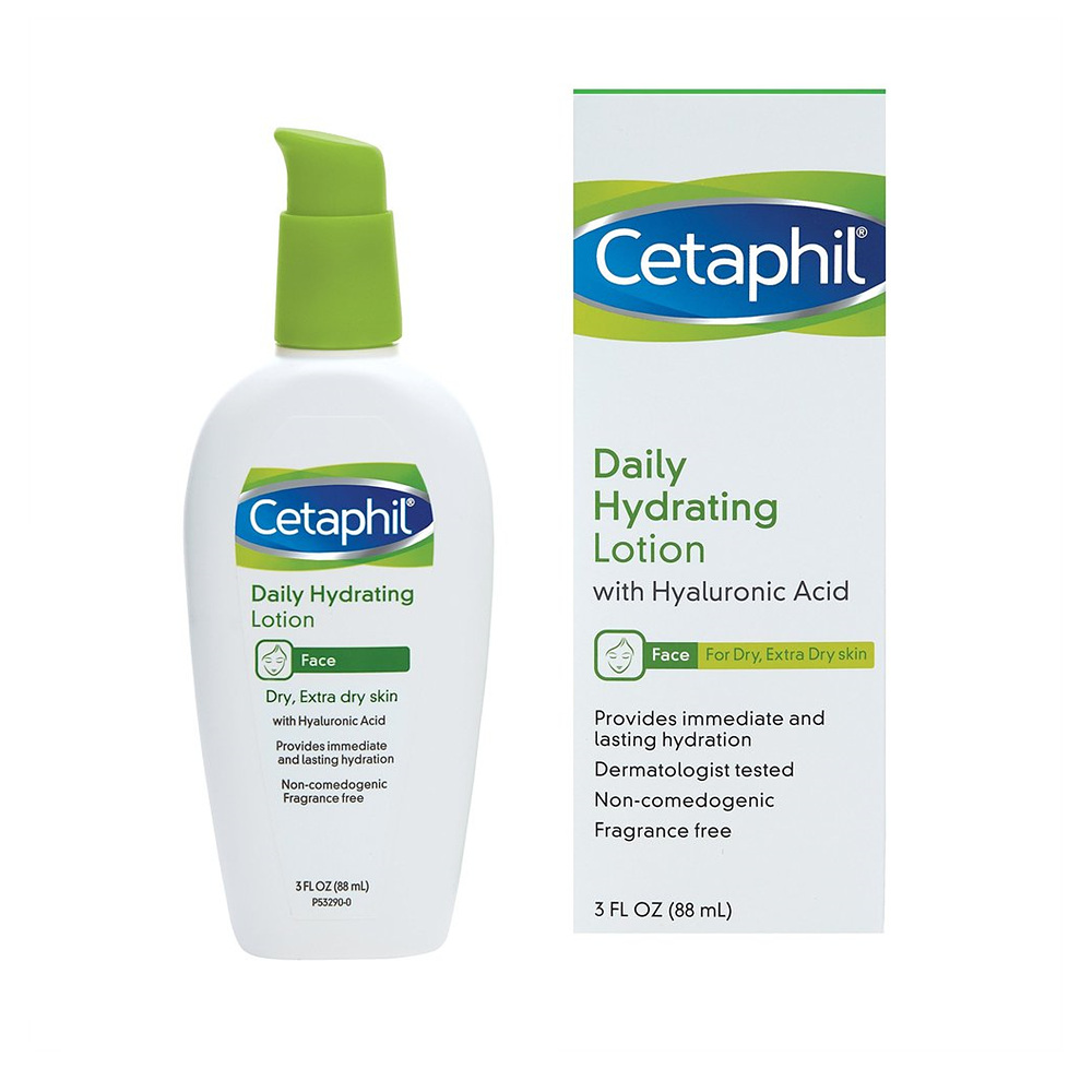 Cetaphil 세타필 데일리 하이드레이팅 로션 히알루론산 3oz Daily Hydrating Lotion with Hyaluronic Acid, 1개