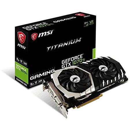 해외550022836 그래픽카드 MSI Gaming GeForce GTX 1070 Ti 8GB GDRR5 256-bit HDCP Support DirectX 12 S, 상세 설명 참조0
