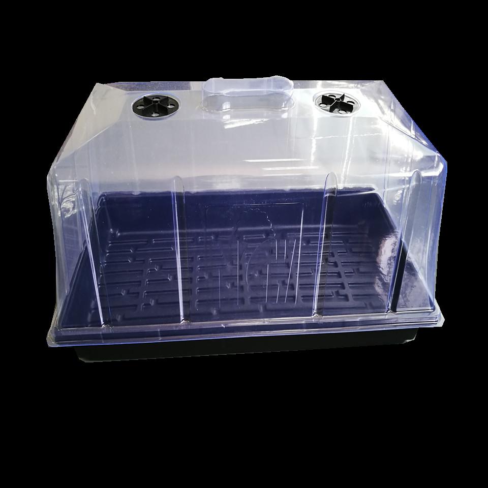 1020 미니온실 수경재배 육모트레이 대형SET(트레이+대형뚜껑), 1세트
