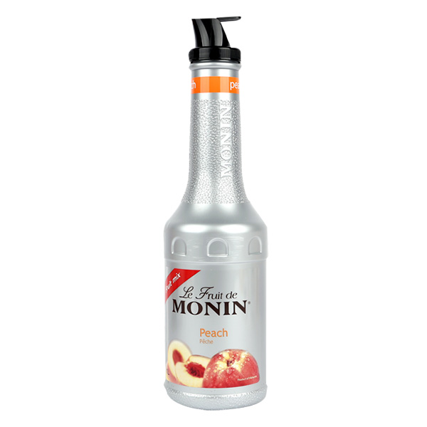 모닌 복숭아 퓨레 1000ml 식품 > 생수/음료 음료 과일/야채음료 기타 열대과일주스, 1개
