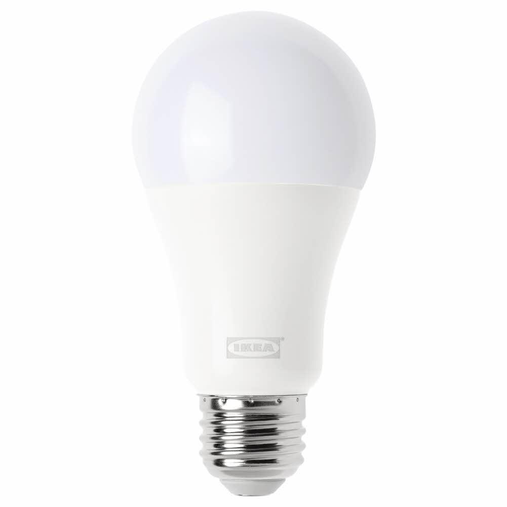 LED전구 E26 1000루멘 무선밝기조절 웜화이트 오팔 화이트 TRDFRI, 기본, 기본