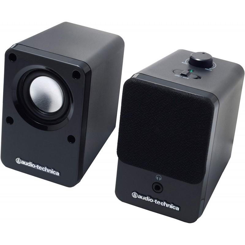 audio-technica 데스크톱 스피커 블랙 AT-SP102 BK