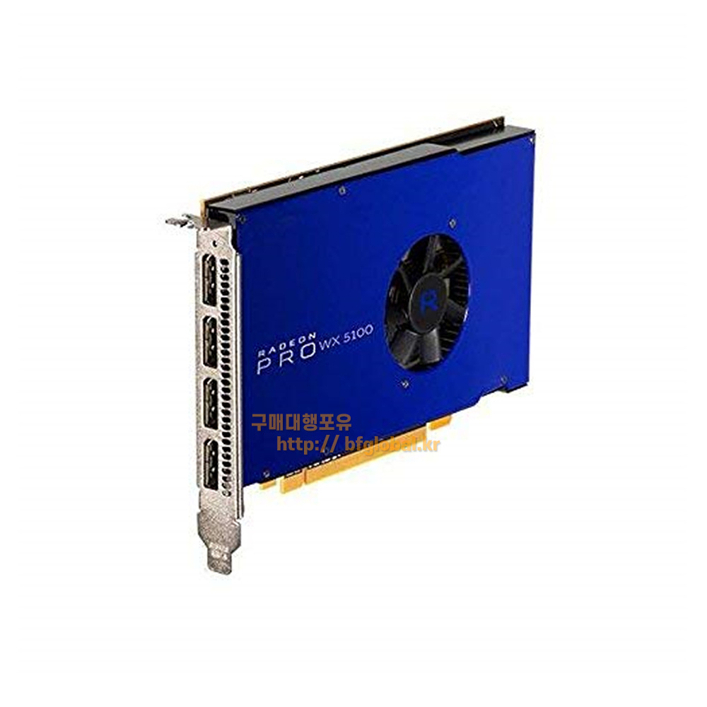 AMD Radeon Pro WX 5100 8GB GDDR5 Graphic Card 그래픽카드, 100-505940