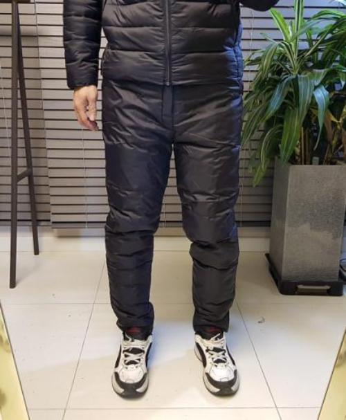 공포스 남자 겨울 밴딩 방한 오리털 덕다운 방수 패딩 바지 27-36 size