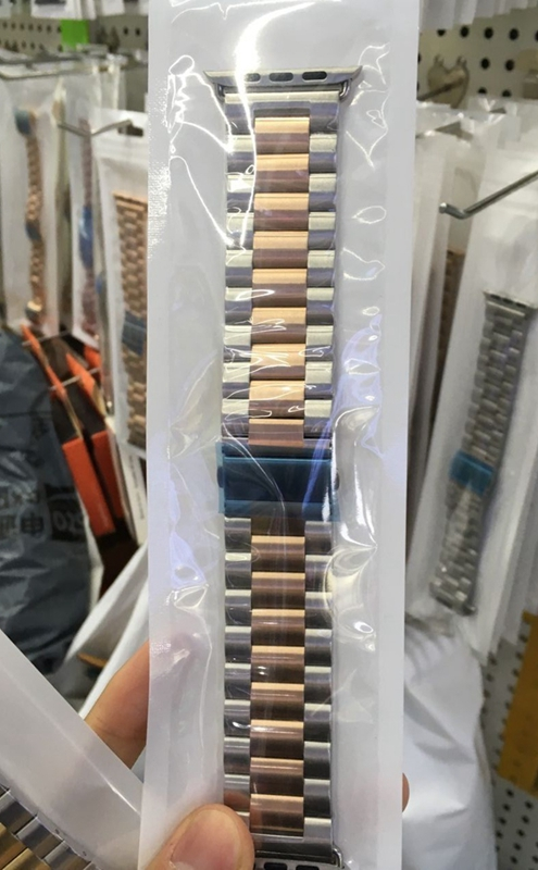 오리하우스 미네르바 미네르바 애플워치쥬빌레Apple iwatch 금속 스테인레스 스틸 스트랩에 적합 Apple WA-14616, 02. 42mm (1 ~ 3 세대), 옵션08