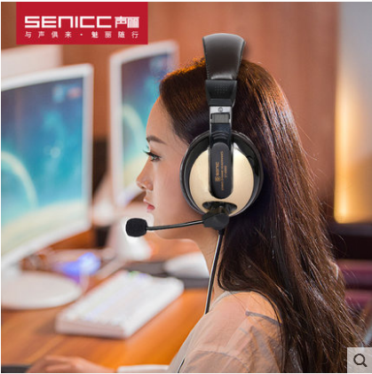 게이밍헤드셋 ST-2688기본타입 헤드폰 컴퓨터 스피커 게임 음성 피씨방 이어폰 마이크 모바일게임, 기본