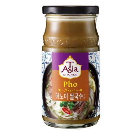 티아시아키친 하노이 쌀국수 소스, 350g, 7개