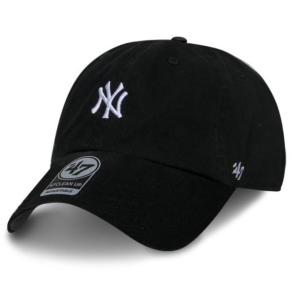 MLB 모자 47브랜드 볼캡 베이스러너 뉴욕 양키즈 블랙
