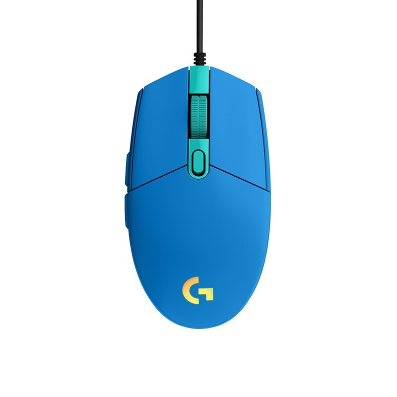 로지텍 유선마우스 G102, Blue