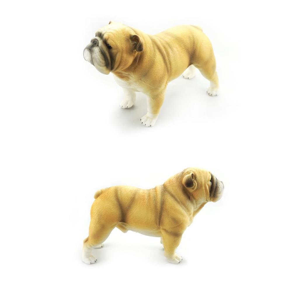 OCIE 소품 교재 말랑 강아지 불독 모형 장난감 동물모형