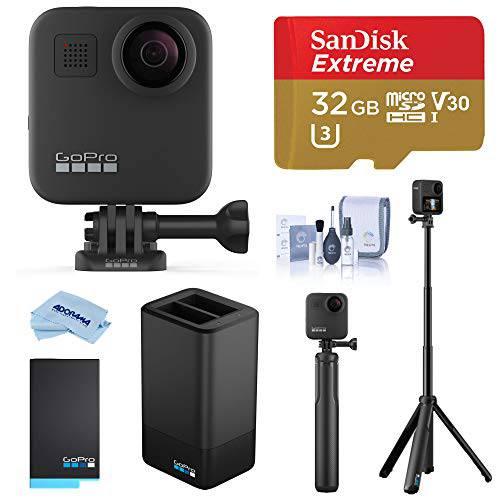 고프로 MAX 방수 360 카메라 with 터치 Screen 5.6K30 Video 16.6MP 포토 P, 상세내용참조