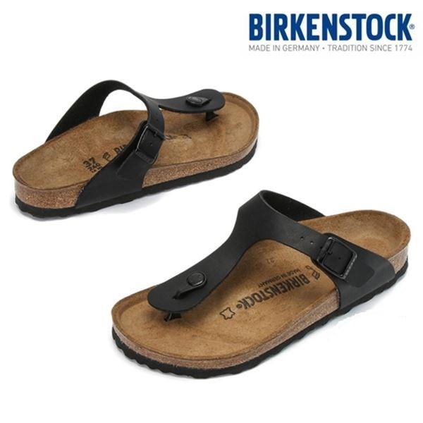birkenstock 지제 블랙 여성 REGULAR 43691