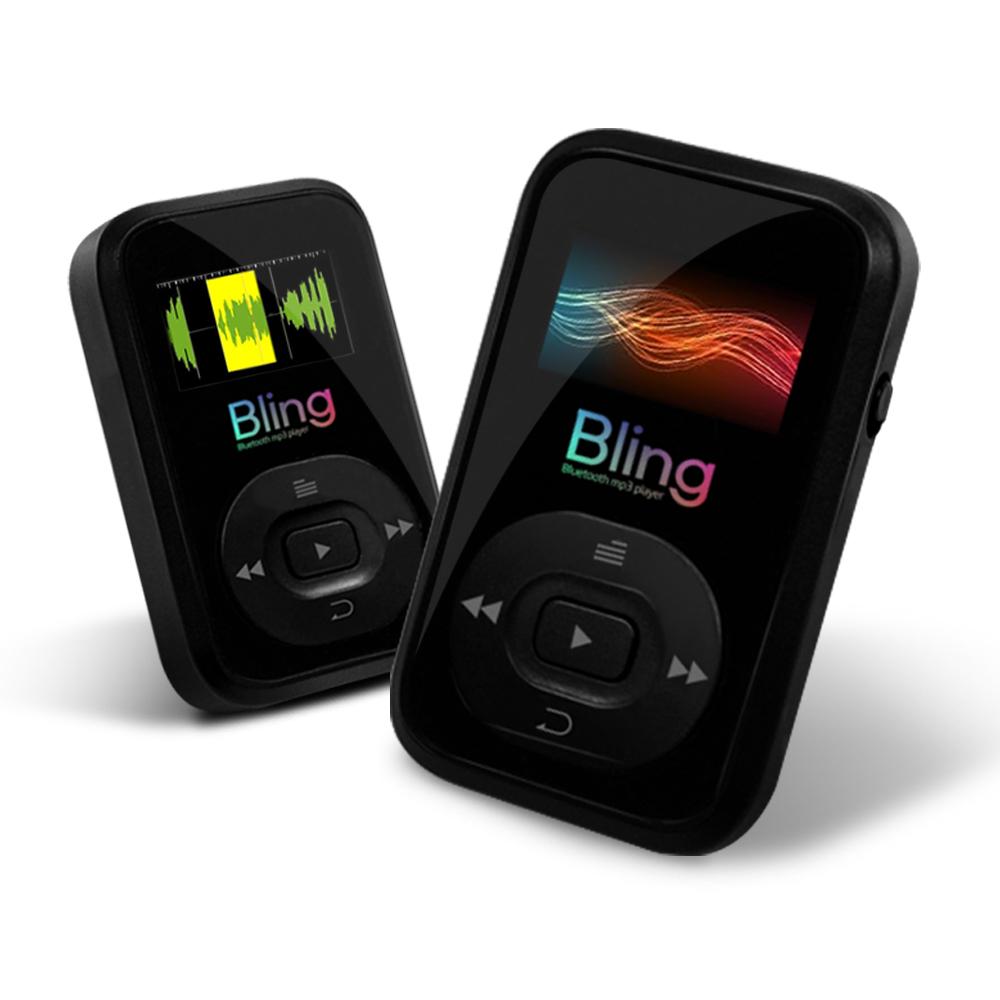 엠피지오 가볍게! 쉽게! 신나게! 선없이 즐기자 블루투스MP3 블링!, 블랙, 블루투스 MP3 블링