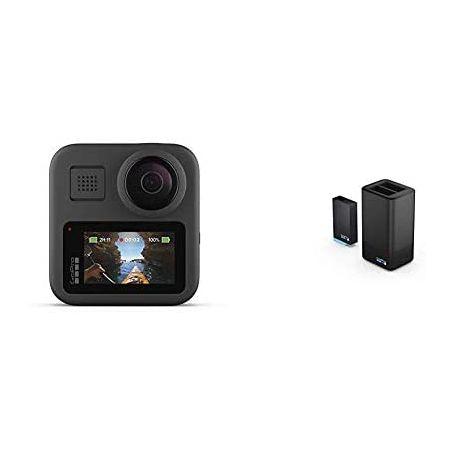 [아마존베스트]GoPro MAX with Dual Battery Charger + Battery PROD5870000302, One Color_One Size