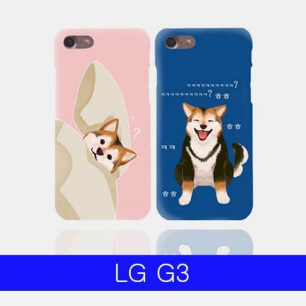 LG G3 개 F400 하드케이스, 개뭐, 없음