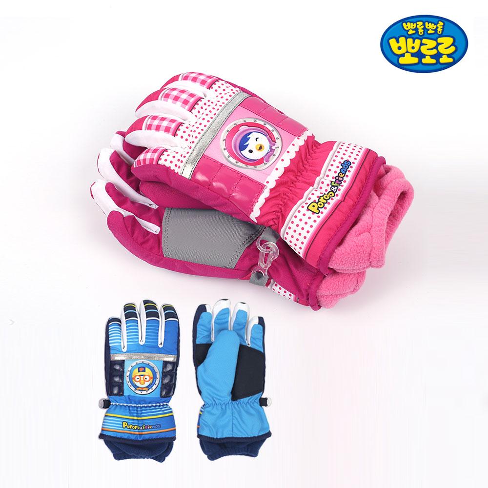 뽀로로 패딩 겨울장갑 방수 어린이 아동 방한 방수 눈썰매
