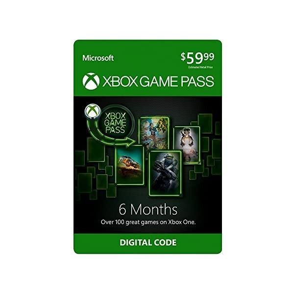Xbox Game Pass: 6 Month Membership [Digital Code], 상세 설명 참조0, 6 Months