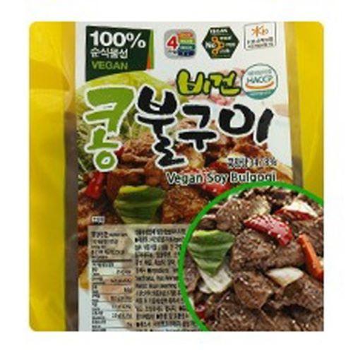 지율K 비건 콩 불고기 비욘드미트 콩고기 요리 대체육 1kg