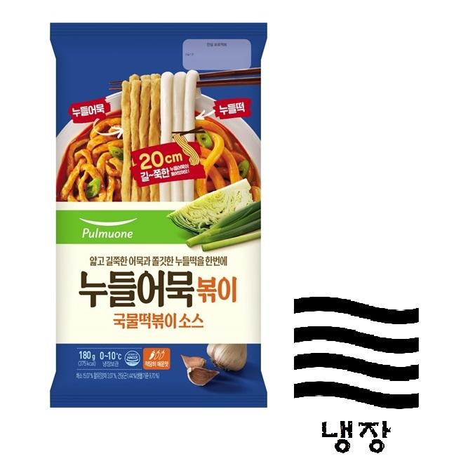 [풀무원] 누들국물떡볶이 180g(어묵포함 2인분)
