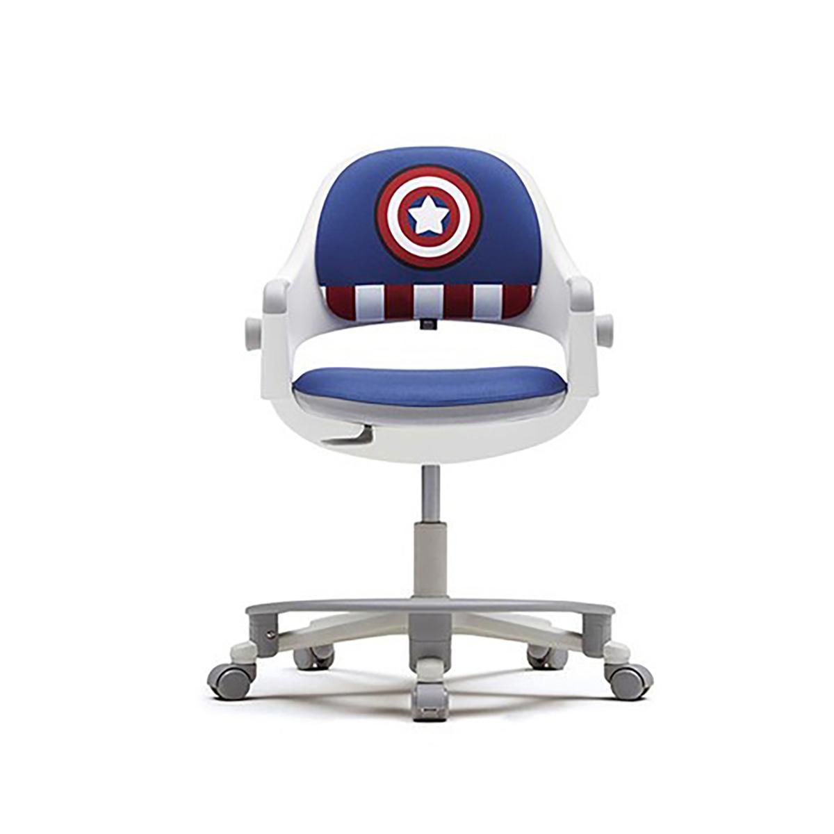 시디즈 마블 링고 학생 의자 + 발받침 포함, 스파이더맨