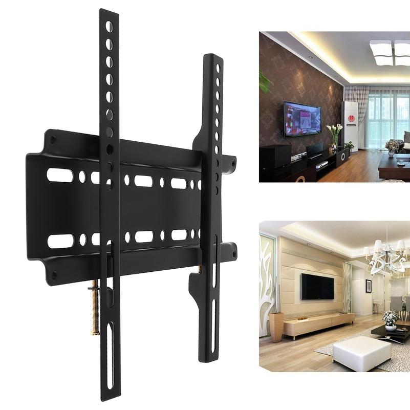 TV 모니터 암 스탠드 주식 다중 듀얼 모니터 노트북 암 스탠드 1 PC 범용 25KG 벽 마운트 브래킷 고정형 평면 패널 프레임 12-37 인치 LCD LED 평면 29