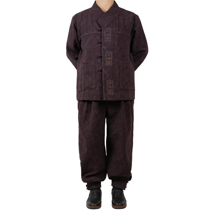 단아한의 남성 남자 가을 겨울 개량한복 생활한복 2피스 3가지색상 셋트 대길브이넥세트