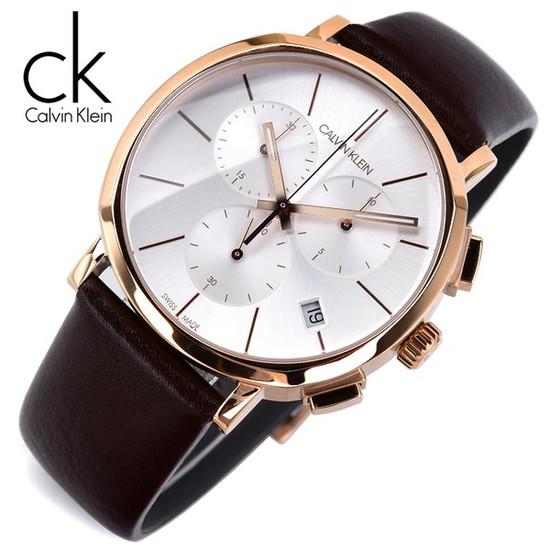 캘빈클라인 K8Q376G6 크로노그래프 남성용 야광인덱스 명품 시계